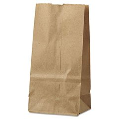 цена на - 2# Paper Bag, 30lb Kraft, Brown, 4 5/16 x 2 7/16 x 7 7/8, 500/Pack