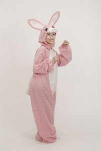 ジャンプスーツ ウサギ 大人用