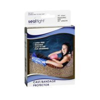 Brown Medical Seal-Tight Sport Cast And Bandage Protector, Leg