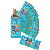 Bubble Guppies Crayon Favors 12 Count-2Pack
