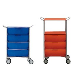 kartell-mobil-4-drawer-storage-box-with-handles-and-wheels-smoky-gloss
