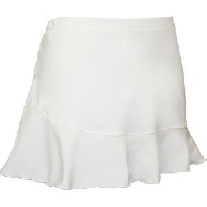 Rolled Hem Skirt with Shorts