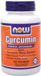 Now Foods Curcumin Turmeric Root Extractract 95%, Veg-capsules, 120-Count