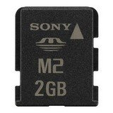 Sony 2gb Memory Stick Micro M2 with USB adapter in retail packaging