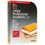 MICROSOFT Office Professional Academic 2010 - T6D-00123