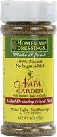 Homemade Dressings Napa Garden Salad Dressing Mix and Rub -- 4 oz