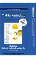 NEW MyMarketingLab with Pearson eText -- Access Card --...