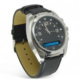 Natural Air Man Bluetooth Watch with Vibration and Caller ID Display