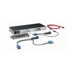 HP AF617A Keyboard Video Mouse KVM Switch Box