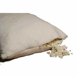 100% Natural Shredded Latex pillow. Pure latex pillows made from natural rubber - Queen