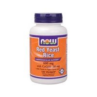 Now Foods Red Yeast Rice w/ CoQ10, 120 caps ( Multi-Pack)