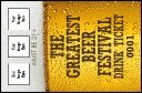 Drink Tickets - Beer Festival - 100