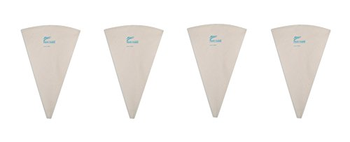 Plastic Coated Pastry Bag 18 Inch, Set of 4