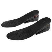 Noctronique 3-Layer Men Shoe Air Cushion Increase Insoles(Black)