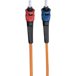 Tripp Lite Duplex Multimode 62.5/125 Fiber Patch Cable (St/St), 1M (3-Ft.)(N302-003)