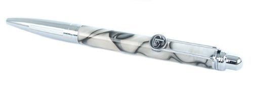 sophia-black-cream-acrylic-button-top-ball-point-pen-in-gift-box