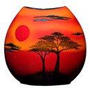 African Sky Vase- Purse 20cm