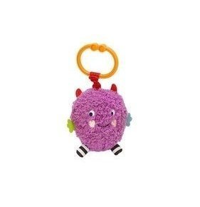 Sassy Non-sters Bo-bo Motion Activated Silly Sounds Clip-on Plush - 1
