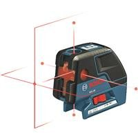 Bosch GCL 25 Self Leveling 5-Point Alignment Laser with Cross-Line and L-BOXX Storage Case