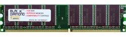 1GB Memory RAM for Dell OptiPlex GX260 SMT, GX260n 184pin PC2700 333MHz DDR DIMM Black Diamond Memory Module Upgrade