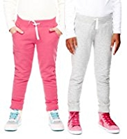 2 Pack Wide Waistband Joggers