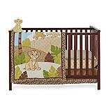 Lion King Simba Crib Bedding and Wall Decor - 4-piece - 1
