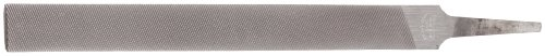 "Nicholson 04896N 8""  Half-Round Bastard File, Flat Sides on all Half-Round Files are Double Cut (Pack of 1)"