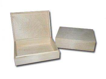 Large Wooden Jewellery/Treasure Box/ Keepsake Box to decorate 27.5cmx20.5cmx8.3cm Decoupage Art Craft