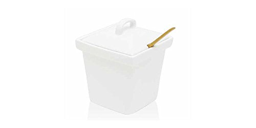 Front Of The House Dbo086Whp22 Mod 15 Oz. Porcelain Pot