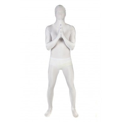 Adult White Morphsuit Plus Size
