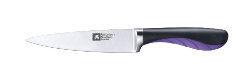 Richardson Sheffield 3-Piece Gripi Starter Cutlery Set, Purple
