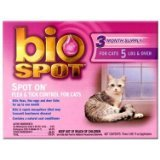 Bio Spot Spot On for Cats over 5 lbs., 3 Month Supply
