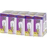4 X 15w SES Clear Pygmy Lamp Light bulb - Boxed 10 by CROMPTON