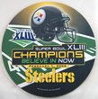 Pittsburgh Steelers Super Bowl XLIII Champions Round Helmet Mousepad