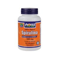 Now Foods Spirulina Twins 500mg, Tablets, 400-Count 