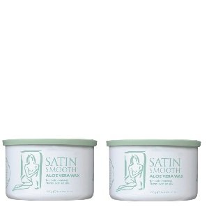 Satin Smooth Aloe Vera Wax 2 Pack