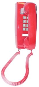 Cortelco Kellogg 2554 Wall Mount Phone Rd Telephony with Vol Cntrl (Telephones Corded Wall Mount compare prices)