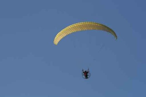 Paraglider with Engine - 72