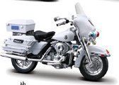 Harley Davidson Flhtpi Electra Glide Police Motorcycle Model