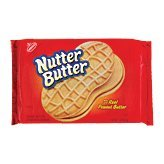 Nabisco Nutter Butter Sandwich Cookies Peanut Butter 16 Ounce