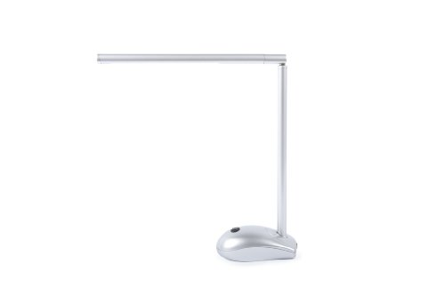 Candy Lamp LED Rechargeable Desk Lamp - Silver
