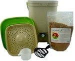 The Bokashi Bucket Food Waste Fermenter Kit with 2 lb Bokashi