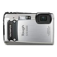 Olympus Digital Camera TG-820 Silver (Old Model)