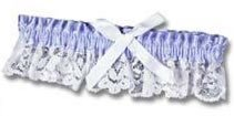 Bride's Garter... (Wearing Something Blue...) Look Fabulous