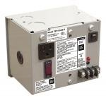 Enclosed Single 75VA multi-tap to 24Vac UL class 2 no outlets 10A main breaker