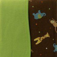 Too Good by Jenny McCarthy Zoo Zoo Organic Cotton Blanket