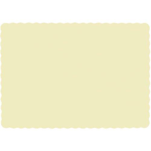 Vanilla Crème Paper Placemats (50ct)