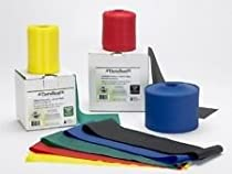 Thera-Band 9ft Black Special Heavy Resistance Exercise Band Latex-Free Bands - 3 Yds - Polybag
