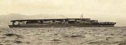 1/700 ウォーターライン 赤城 三段甲板 (220)