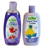 Sesame Street Night Time Baby Bath Set - Shampoo and Lotion